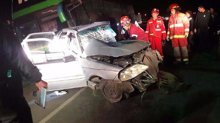 Huaura: dos muertos dejó accidente de tránsito en Végueta - RPP