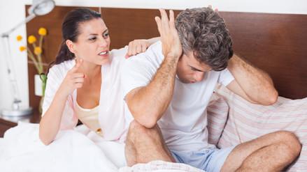 La falta de sueño aumenta las discusiones de pareja