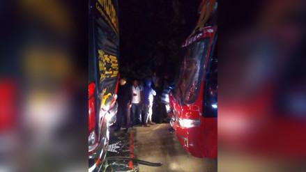 Chanchamayo: choque de buses interrumpió vía hacia la Selva Central