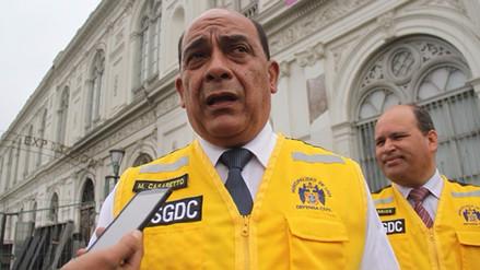 Casaretto dice que compra de equipos para bomberos no se anuló, se canceló
