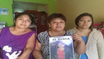 Pobladores protestan y piden agilizar búsqueda de joven comerciante
