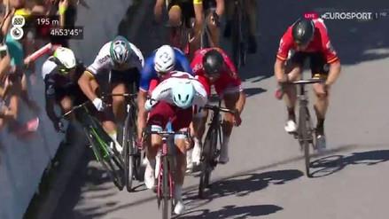 La cuestionable acción de un ciclista en el Tour de Francia