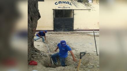 Cortan servicio de agua potable en camal de Bellavista en Sullana