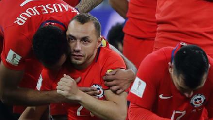 Así fue el emotivo recibimiento de los hinchas chilenos a Marcelo Díaz