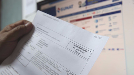 Mypes y grandes empresas deberán emitir facturas electrónicas desde 2018