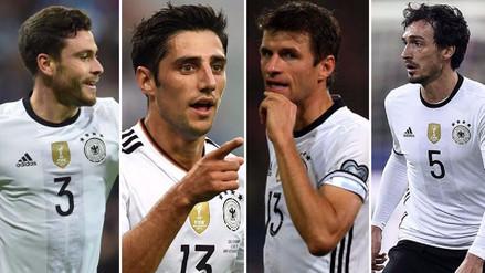 Los jugadores que Alemania llevaría al Mundial Rusia 2018