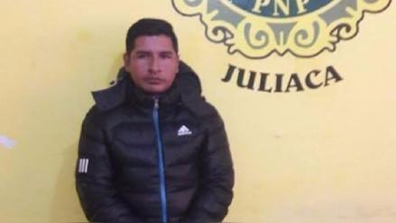 Detienen a otro integrante de banda integrada por policías en Juliaca