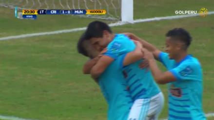 La gran jugada colectiva que acabó en gol de Irven Ávila