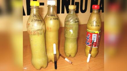 Policía incauta 14 litros de látex de opio en vía Jaén – San Ignacio