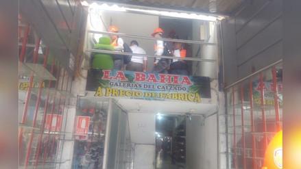 Trujillo: comerciantes de calzado pierden un millón 800 mil soles en ventas