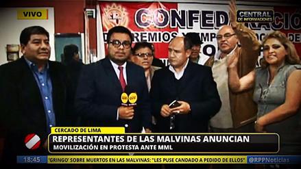 Comerciantes de Las Malvinas anunciaron marcha contra la Municipalidad de Lima