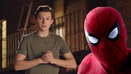 Spider-Man | Tom Holland envía saludos a RPP Noticias