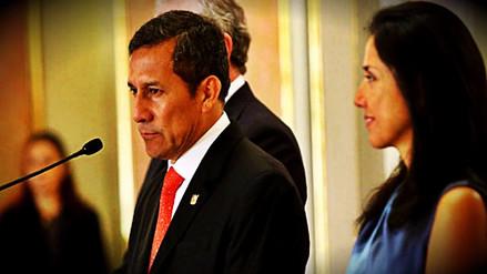 Ollanta Humala y Nadine Heredia presentaron queja contra fiscal Juárez Atoche