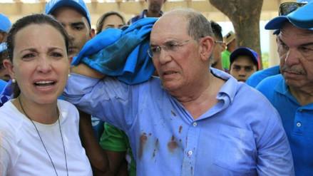 La oposición acusó al vicepresidente de Venezuela de liderar a paramilitares