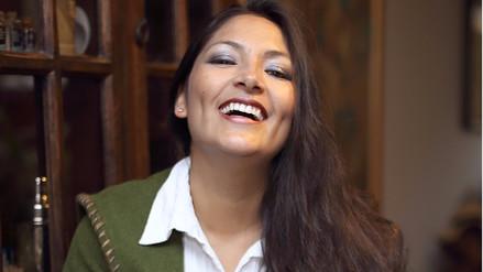 Magaly Solier se une a la fiesta del Vilcas Raymi