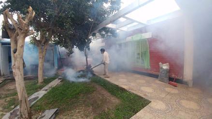 Un 50% de viviendas renuentes a fumigación contra el dengue en Tumán
