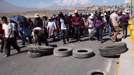 """Histórica protesta antiminera del """"Aymarazo"""" llegó a su fin"""
