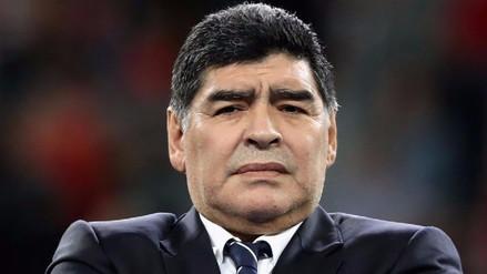 Diego Maradona confundió a Juventus con Newell's e insultó a un hincha