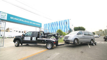 Llevan al depósito a más de 5 mil autos mal estacionados en San Isidro