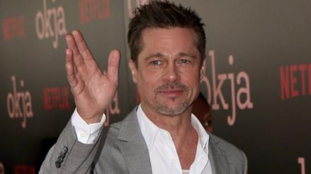 Esta es la nueva apariencia de Brad Pitt