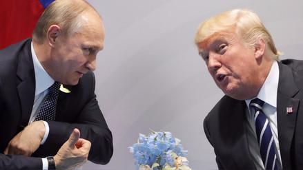 G20: ¿Qué dijeron Putin y Trump sobre su primera reunión?