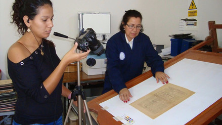 Digitalizan más de 10 mil documentos del siglo XIX en Archivo Regional