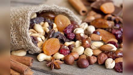 Los frutos secos como opción de snacks saludables