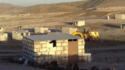 Recuperan 120 hectáreas invadidas en el distrito de Uchumayo