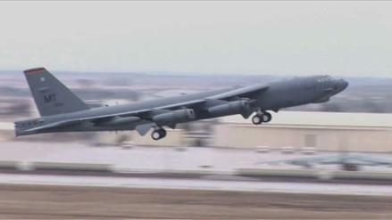 Dos bombarderos de EE.UU. sobrevolaron el Mar de China Meridional