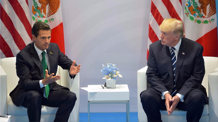 Video | Donald Trump insistió en que México pague el muro