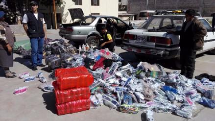 Incautan mercadería de contrabando valorizada en más 35 mil soles