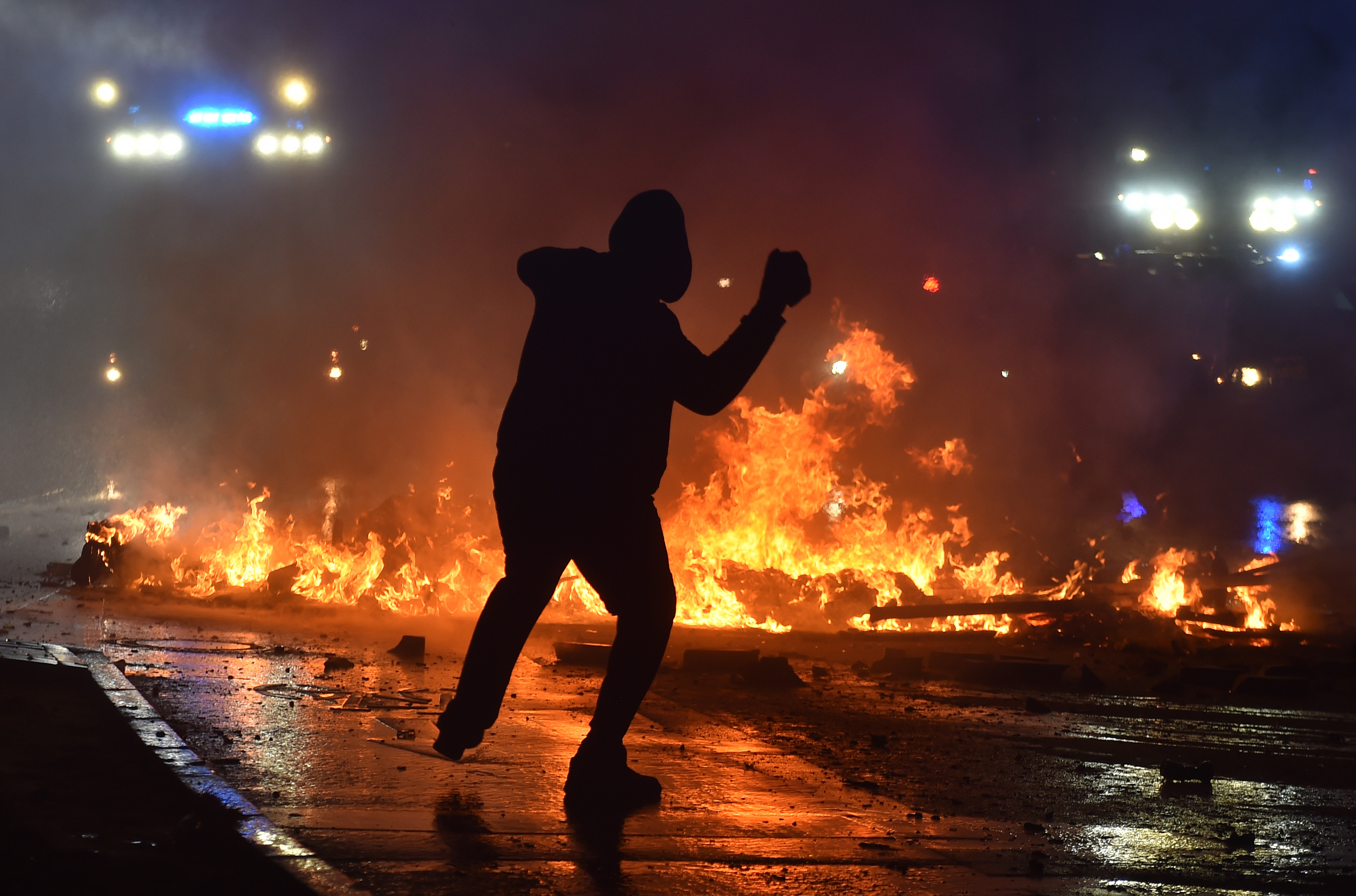 Fotos | 197 policías heridos en las protestas contra el G20 en Hamburgo