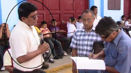 Piden seis años de cárcel para alcalde de Pátapo