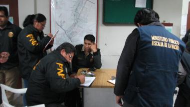 Policía es detenido por recibir 500 soles de coima en Tacna