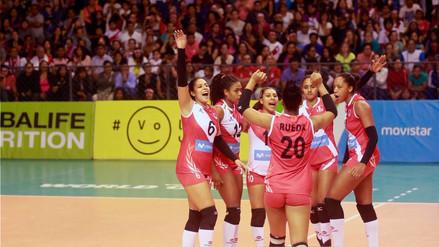 Perú venció por 3-0 a Colombia y sumó su segundo triunfo en el Grand Prix