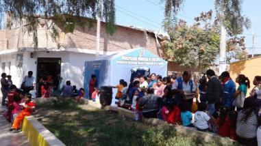 Inscriben a 100 niños de forma gratuita en Reniec