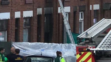 Una mujer y tres niños murieron en un incendio en Manchester