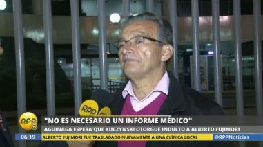 """Alejandro Aguinaga: """"La Constitución no habla de perdón médico"""""""