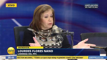 """Lourdes Flores: """"El gabinete de PPK debe refrescarse"""""""