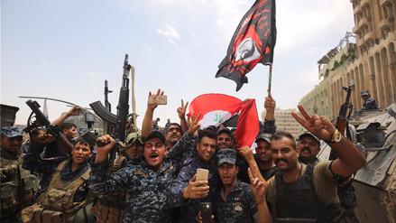 El primer ministro iraquí proclamó que Mosul fue