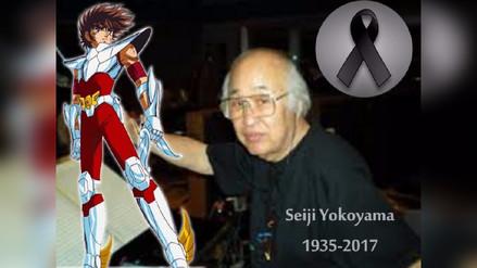 El mundo de Saint Seiya está de luto ¡Adiós Seiji Yokoyama!