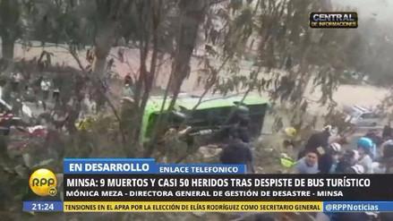 Todo lo que se sabe de los heridos del accidente en el Cerro San Cristóbal
