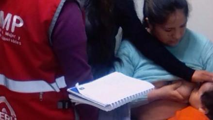 Familiares identificaron al bebé herido durante el accidente del Rímac