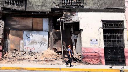 ¿Cuántos sismos ha habido en todo el Perú en 2017?