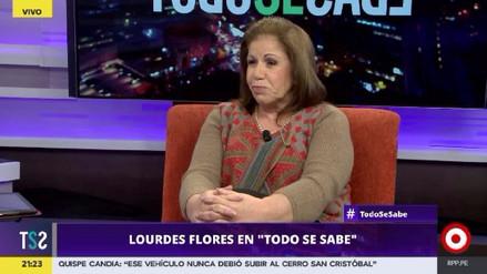 Lourdes Flores no descarta volver a postular a un cargo público en el futuro