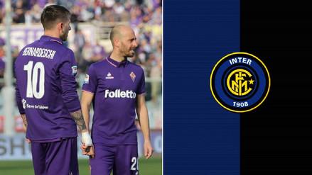 Ídolo de la Fiorentina ficha por el Inter de Milán