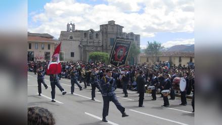 Desfiles por fiestas patrias serán el 25 y 26 de julio en Cajamarca