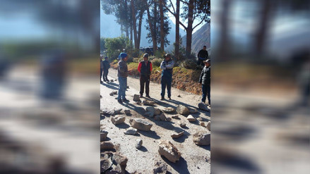 Cusco: Docentes continúan bloqueando carreteras como medida de protesta