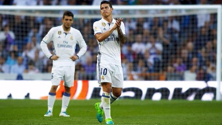 James Rodríguez agradeció al Real Madrid: