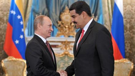 "Putin expresó a Maduro su ""admiración"" por gobernar ""con coraje"""